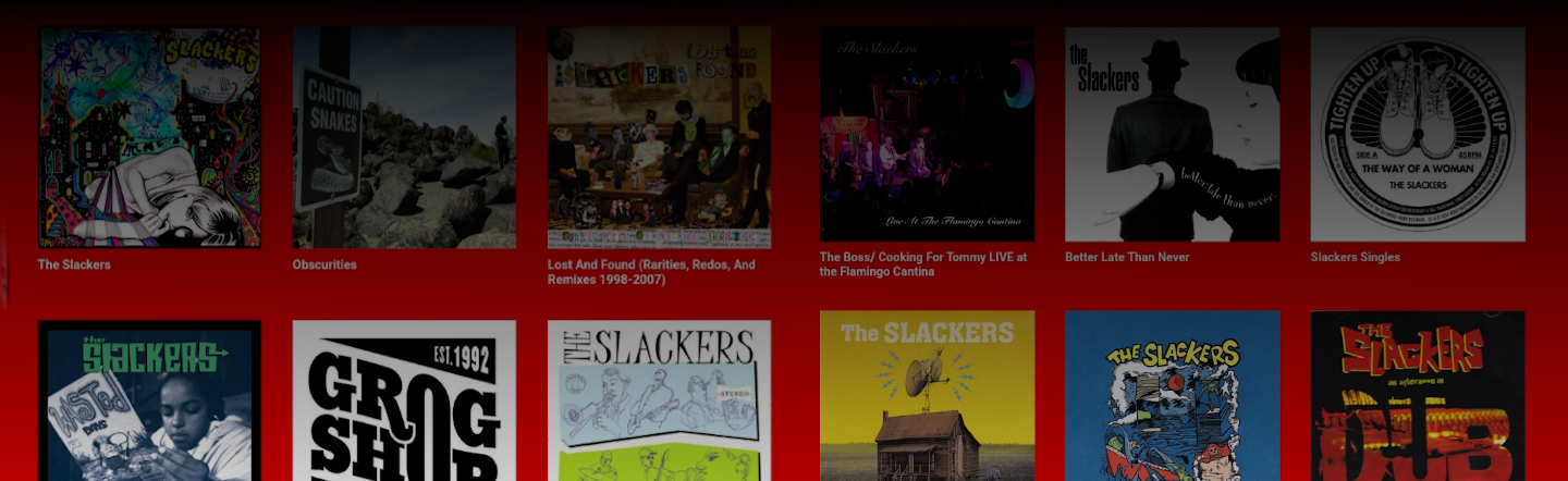 The Slackers Discogs Store!